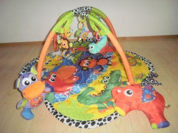 Hrací deka Playgro s hrazdičkou