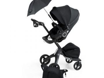 Stokke Special Edition Xplory v pravé černé barvě